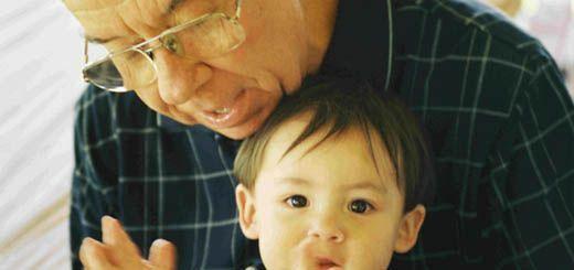 la suerte de tener un abuelo