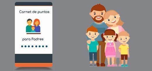 carnet de puntos para padres