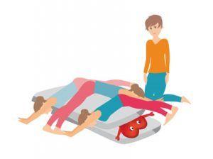 A través de este ejercicio el paciente se podría quitar la carga transgeneracional