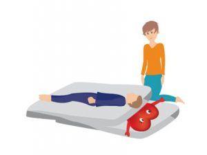 El paciente conecta con la tristeza al ver la carga en forma de persona que tiene su órgano