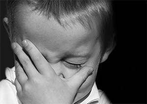 dejar llorar al niño